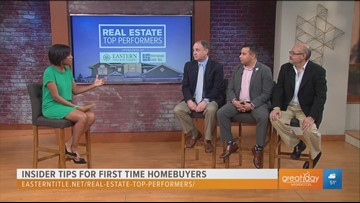 Real Estate Top Performers: Tips for first time homebuyers