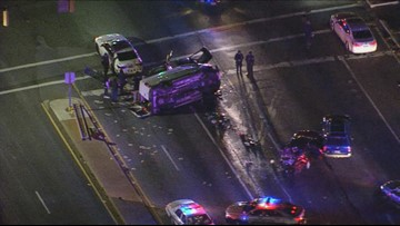 4 people injured in accident on Indian Head Highway in Prince George's Co.