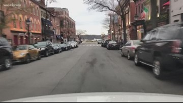 This street in Old Town Alexandria may become 'pedestrian-only' on weekends