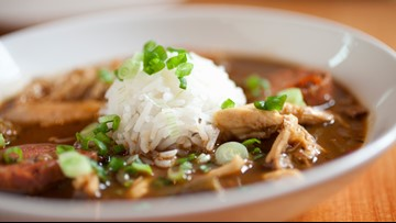 Indulge in this roux-less gumbo recipe
