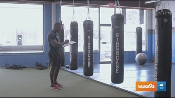 Get fitness tips from an MMA fighter at home or on the go