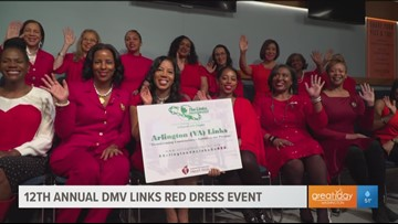 Wear Red Day: DMV Links Incorporated spread awareness about cardiovascular disease