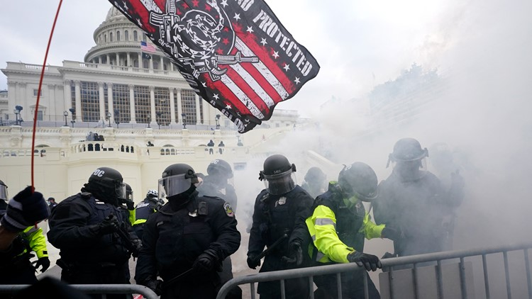 'Three Percenter' militia group conspired to bring hatchets, body armor to disrupt Congress on January 6, indictment says