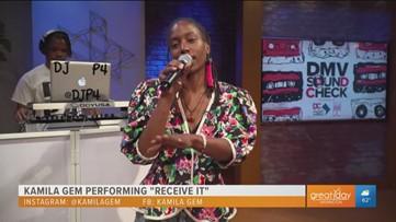 DMV Soundcheck: Kamila Gem promotes positivity through her music