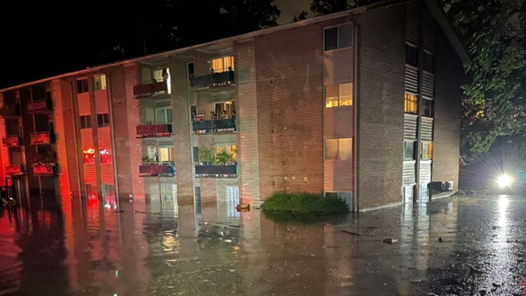 Interfaith Works gets $1,500 donation to help support Rockville flood victims