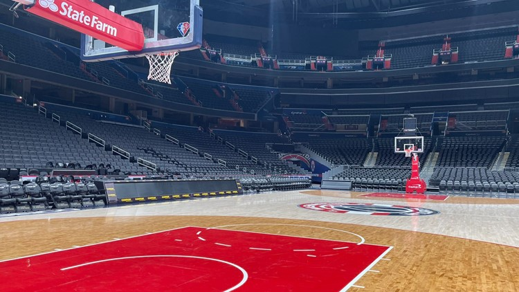 Capital One Arena opens at full capacity for Wizards home opener