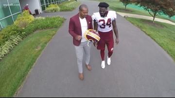 Redskins' Wendell Smallwood has big chip on his shoulder