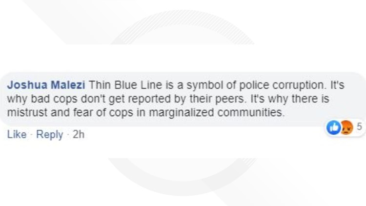 Flag comment,