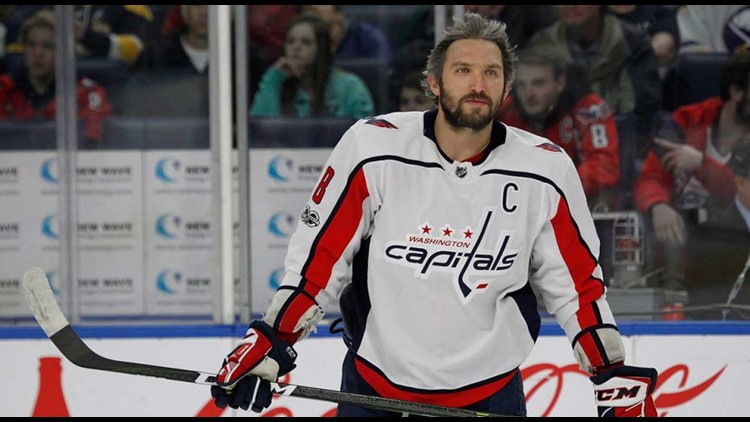 Alex Ovechkin is headed to China