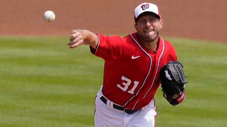 'We can have more fans in here' | Max Scherzer sounds off about wanting more fans at Nats Park