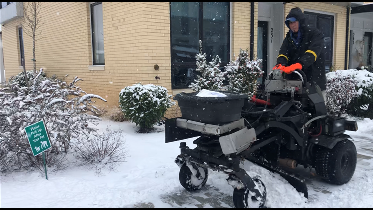 Crews, residents in Gaithersburg continue to clear roads ahead of next round of snow
