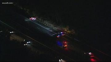 Car crash on Route 50, 4 injured
