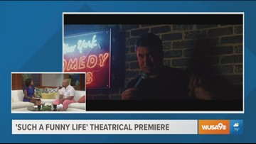 'Such a funny life' theatrical premiere by Maryland native Oliver Mann