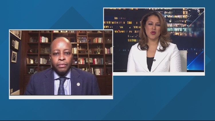 Howard University's president speaks about the life and legacy of civil rights activist Vernon Jordan