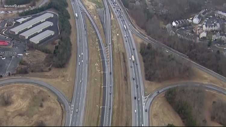 Lowering speed limits on I-95 in Virginia to address congestion, crashes
