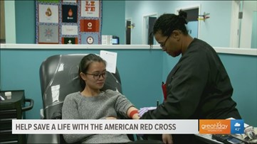Give blood to help give time to cancer patients with The American Red Cross