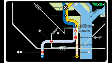 6 Blue and Yellow line Metro stations to close for this summer. Here's what you need to know