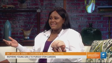 DC expert inspires young girls to pursue STEM careers
