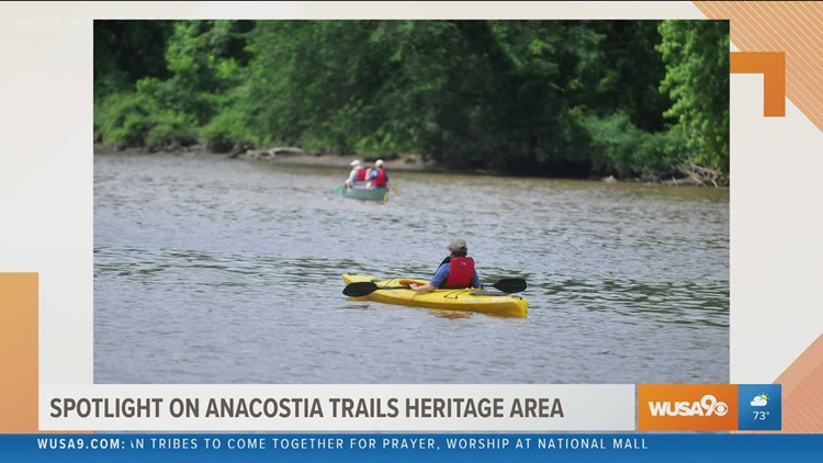 Discover the nature and history of the Anacostia Trails Heritage Area