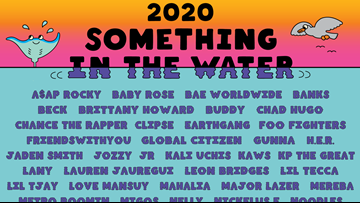 Everything you need to know about the performers at Something in the Water 2020