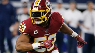 LB Bostic re-signing 2 year deal with Redskins