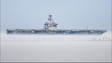 Sailors aboard USS Theodore Roosevelt test positive for coronavirus