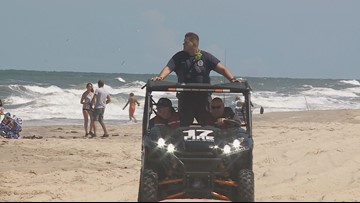 Search scales back for teacher missing in water off False Cape State Park in Virginia Beach