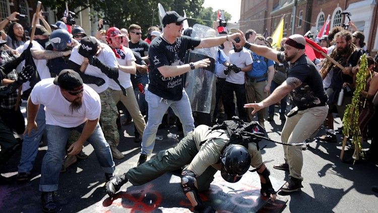 Judge denies bid to move trial over Charlottesville white nationalist rally