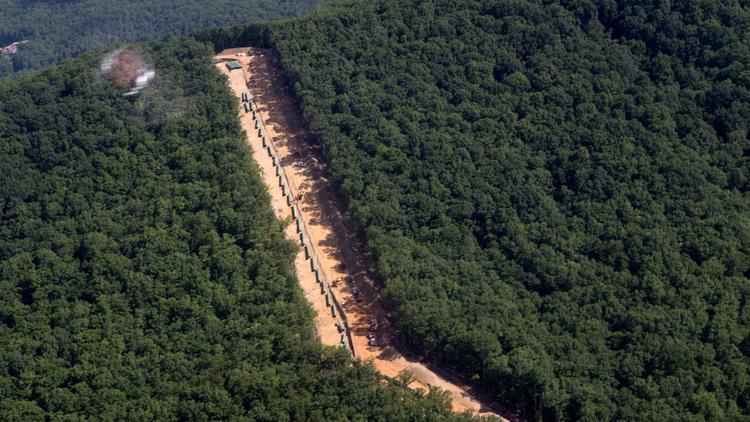 Judge says she can't halt Virginia mountain pipeline blasts