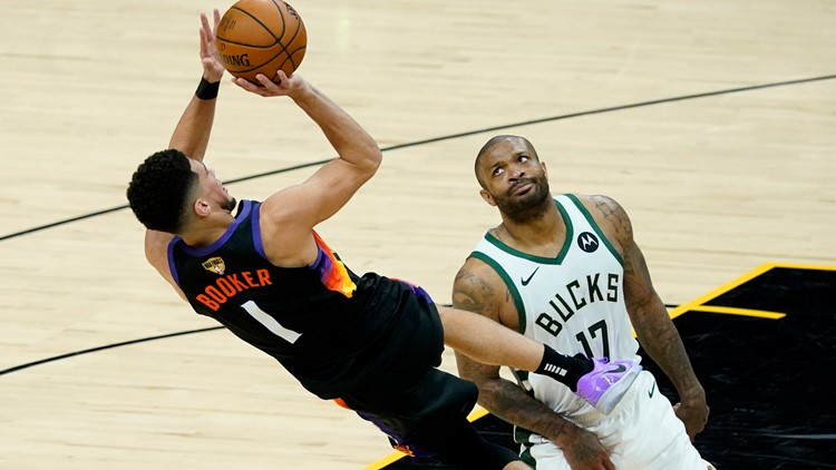 Halfway there: Suns beat Bucks for 2-0 lead in NBA Finals
