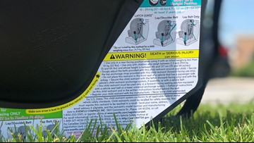 Virginia's new child car seat law goes into effect July 1