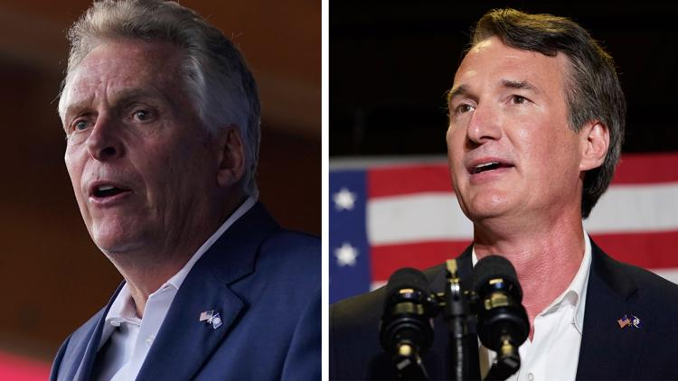 Virginia governor's race: McAuliffe, Youngkin face off in first debate