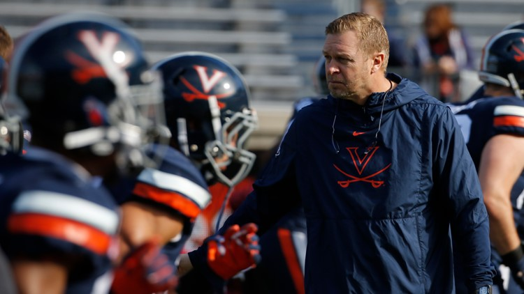 UVA's Bronco Mendenhall talks season opener