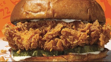 Popeyes hit chicken sandwich is coming back!