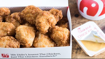 Chick-fil-A is giving away FREE chicken nuggets. Here's how to get some.