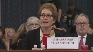 Former U.S. Ambassador to Ukraine gives opening statement in impeachment hearing