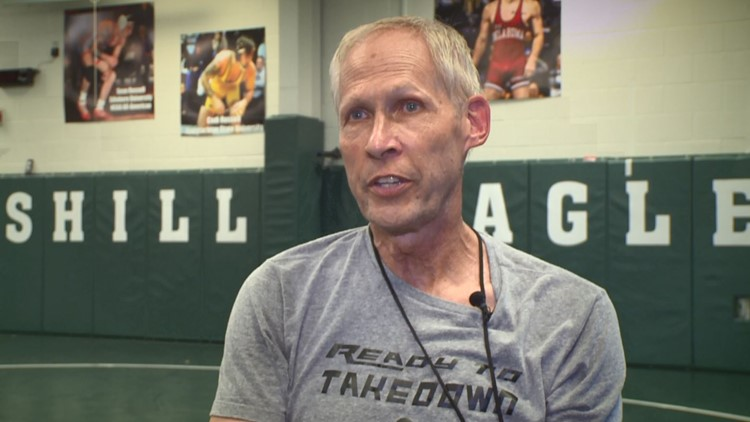 A Georgia wrestling coach was diagnosed with pancreatic cancer. He fought for his life - and one more practice.