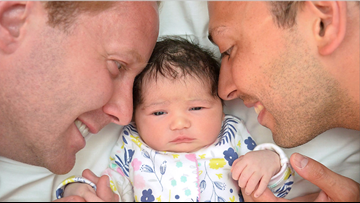 'Born out of wedlock' policy used to deny 1-year-old citizenship, because her parents are gay