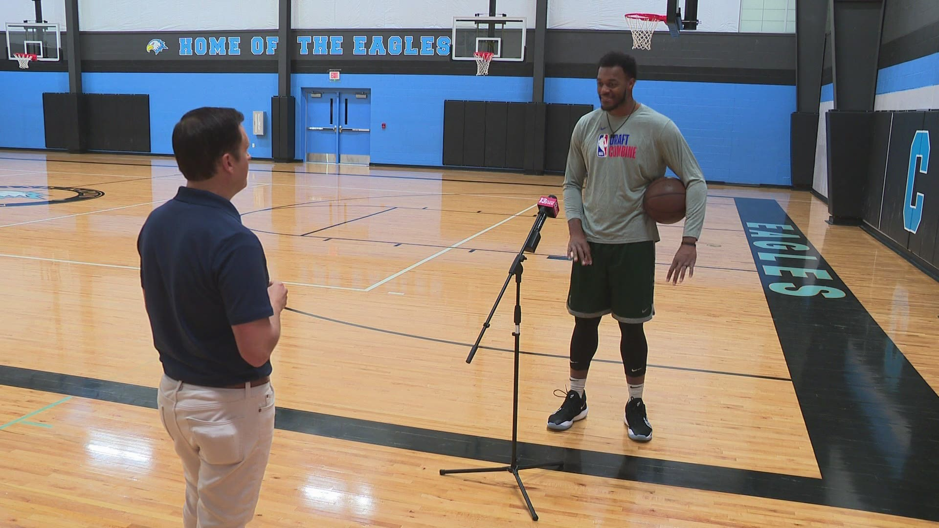 Ready For The Nba How Former Msu Star Xavier Tillman Took His Play To The Next Level With Just A Trainer A Ball And A Basketball Court Wusa9 Com